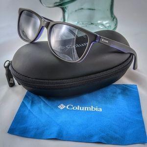 Columbia gray and purple sunglasses